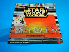 STAR WARS MICRO MACHINES IMPERIAL STORMTROOPERS 9 PC MINI FIGURE SET