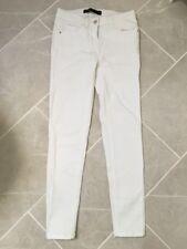 Ladies 8 Next White Skinny Jeans