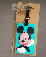 dbee45cf55d Disney minckey blue silica gel luggage tags Baggage Tag anime brand new
