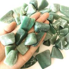 100G/3.5oz Bulk Natural Green Jade Quartz Tumbled Stone Rock Healing Specimens
