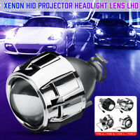 "HID Bi-xenon Projector Headlight Lens Mini Light 2.5"" H1 H4 H7 Left Hand Driver"