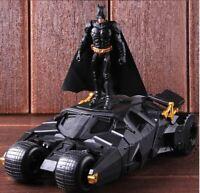 Batman Batmobile Super car DC Superheros 22cm Action Figure Collection Model toy