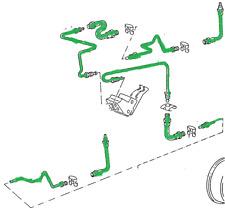 Bremsleitungssatz Bremsleitungen + Bremsschläuche Passat 35I hinten Scheibenbrem