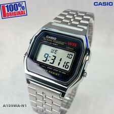 Brand New Casio Classic Vintage Retro Style Digital Watch A159WA-N1DF JAPAN MADE
