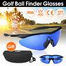 Golfer Golf Ball Finder Glasses Lens Less Sport finding Sunglasses + Mould