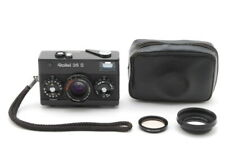 【MINT + Filter Hood Case Strap 】 Rollei 35 S Black 40mm f2.8 Lens From JAPAN c70