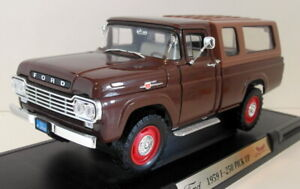 Road Signature 1/18 Scale - 92317 1959 Ford F-250 Pick-Up Brown
