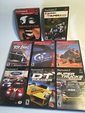 Lot Of 8 PS2 Racing Games Test Drive Ford Car Motorcycle