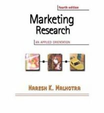 Marketing Research: International Edition: An Applied Orientation with SPSS, Mal