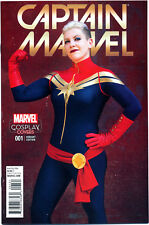 CAPTAIN MARVEL #1 COSPLAY VARIANT (2016) NEAR MINT FIRST PRINT BAGGED & BOARDED