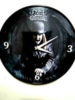 OZZY OSBOURNE - ORDINARY MAN -12 INCH QUARTZ WALL CLOCK / FREE PRIORITY SHIP