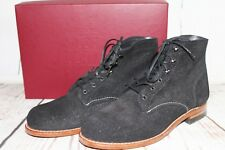 New Wolverine 1000 Mile Work Boots Black Suede Women's 9.5 W40074 Made in USA