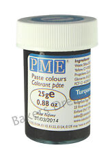 PME CONCENTRATED FOOD COLOURING PASTE GEL MANY COLOURS 25g