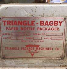Triangle Bagby Paper Bottle Packager