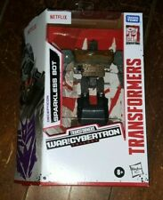 """Transformers War For Cybertron Trilogy: SPARKLESS BOT 5"""" Action Figure (2020)"""