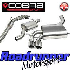 """COBRA AUDI S3 2.0 3"""" Turbo Back Sistema di scarico inox Consonanza Inc CAT 3 PORTE"""