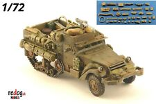 Redog 1/72 M4 US Half track - overloaded - millitary scale model stowage kit