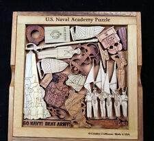 US Naval Academy Puzzle – challenging & artistic wood brain teaser