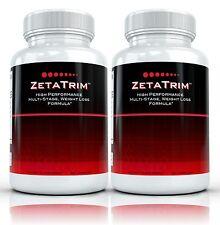2x ZetaTrim High Performance Hardcore Fat Burner Supplement. Extreme Diet Pills