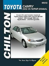 Chilton 68202 Repair Manual Toyota Camry Avalon & Lexus ES 300/330 2002-06 & xe