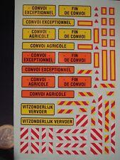 DECALS 1/43 CONVOI EXCEPTIONNEL AGRICOLE - T386