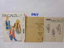 MCCALL'S SEWING PATTERN UNCUT 7839 WOMANS SZ 14 36 BST NORTON SIMON VEST 1980'S