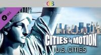 Cities in Motion: US Cities DLC Steam Key Digital Download PC [Global]