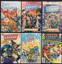 Justice League America Comic (Lot of 6) Vintage 1976-84