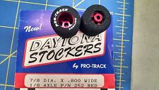 Pro Track 252R Red Daytona stockers 7/8 x 800 wide 1/8 axle Mid America Napervil