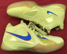sports shoes 60e03 14731 Nike Zoom KD III 3 Christmas Vibrant Yellow Orange Blue 417279-700 Sz 8