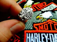 Vintage Harley Davidson Ring Factory HD Motorcycle Dealership Jewelry Size 8