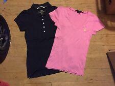 Poloshirt Ralph Lauren H&m 36 Xs T-shirt Blau Rosa Pink Dunkelblau Set