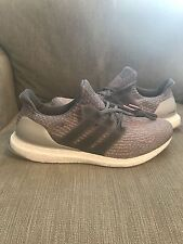 ADIDAS ULTRA BOOST 3.0 RUNNING SHOES MEN'S SIZE 15 GREY/TRACE PINK S82022