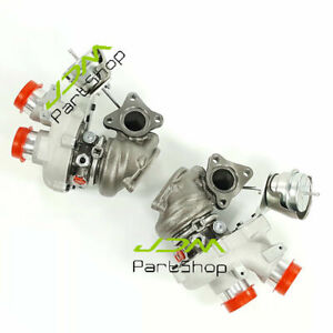 Twin Turbocharger For Ford F150 Transit-150 250 350 3.5L 0469 0470 Front & Rear