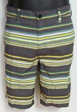 DC Shoes Factory Striped Hybrid Shorts Mens Black Boardshorts New NWT 30