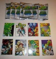 Lot of 7 Opened Packs of The Savage Dragon Collector Cards Erik Larsen vtg 1992