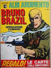 Albi Ardimento n°5 1969 BRUNO BRAZIL con Gadget -   Corriere dei Piccoli  [G405]