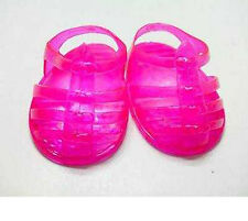 Pink Jelly Sandals Fits 18 inch American Girl Dolls