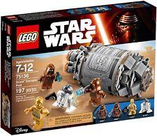 LEGO Star Wars 75136 - Capsula di Salvataggio Droidi NUOVO
