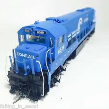 Korea Brass HO 1/87 Scale GE U25C U252025 Conrail #6519 DC only Model Train