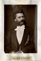 Compositeur, Johann Strauss Vintage print Photoglyptie  8x12  Circa 1880
