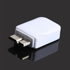 Micro USB 2.0 Female To Micro 3.0 Male Adapter For Samsung Galaxy white