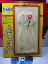 DAGY 11 ½ Fashion Doll Outfit Wedding Dress Vintage Gold Mountain Toys 90s Rare