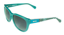 Kenneth Cole Women's Sunglasses - KC2730 89B - Turquoise Frame, Grey Smoke Lens
