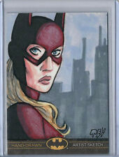 Catwoman Batman:The Legend 2013 Cryptozoic Dc Sketch Card Ted Dastick Jr 1/1
