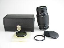 Pour Pentax K Sigma Zoom af-1 1:4. 5-5.6 F = 75-300 mm OBJECTIF LENS 8 lames + Case