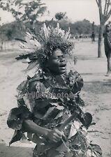 MOYEN-CONGO c. 1940 - Danseur Batéké - PA34