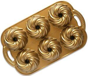 Nordic Ware Swirl Bundlette Baking Pan