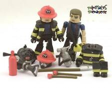 MAX Minimates Elite Heroes Series 1 Fire Fighters Chief 2-Pack (loose/complete)