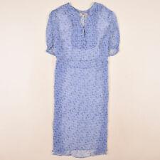 Noa Noa Damen Kleid Dress Casual Gr.XL (DE 42) Freizeit Blau 85735